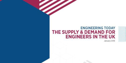 Engineering Today - The Supply and Demand for Engineers in the UK cover