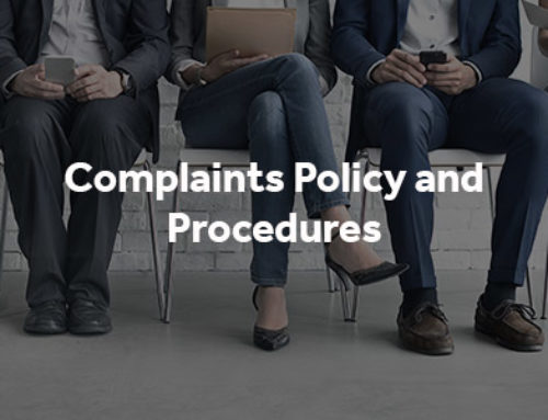 Complaints Policy and Procedures