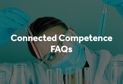 Connected Competence FAQs button