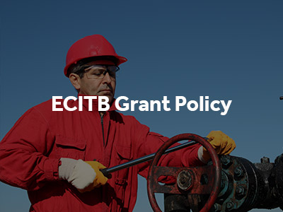 ECITB Grant Policy button