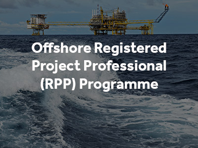 Offshore Registered Project Professional Programme button