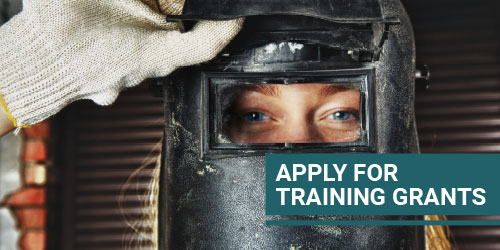 Apply for Training Grants button