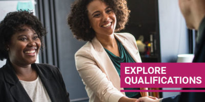 Explore Qualifications button