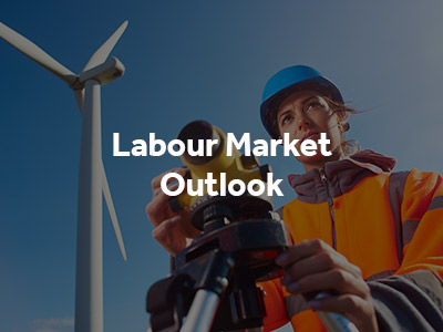 Labour Market Outlook reports button