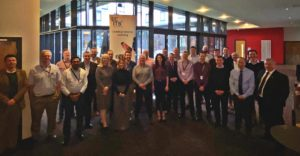 Group photo of All the oil and gas mentors and mentees, Aberdeen January 2020