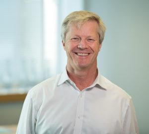 Informal portrait of ECITB Chief Exec, Chris Claydon